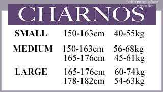 charnos size